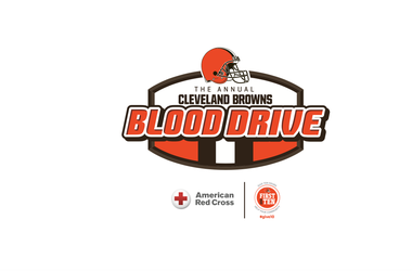Cleveland Browns First and Ten Blood Drive to benefit the Red Cross