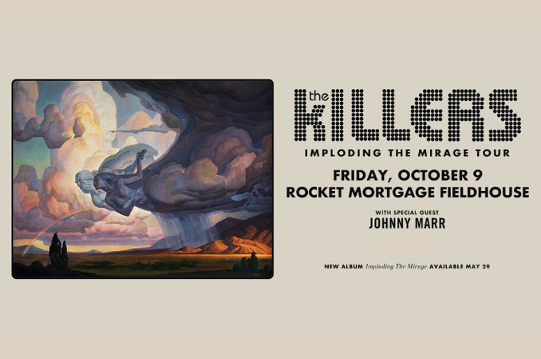 The Killers imploding the Mirage Tour Cleveland October 9th, 2020