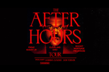 The weekdn after hours tour august 28th rocket mortgage fieldhouse
