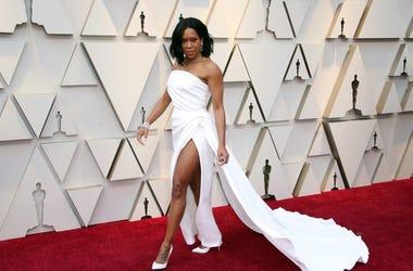 February 24, 2019; Los Angeles, CA, USA; Regina King arrives at the 91st Academy Awards at the Dolby Theatre. Mandatory Credit: Dan MacMedan-USA TODAY NETWORK