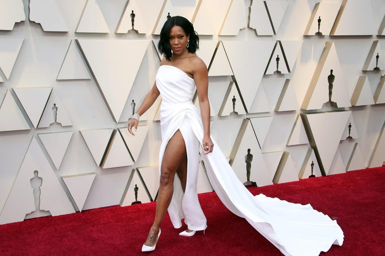 February 24, 2019; Los Angeles, CA, USA; Regina King arrives at the 91st Academy Awards at the Dolby Theatre. Mandatory Credit: Dan MacMedan-USA TODAY NETWORK