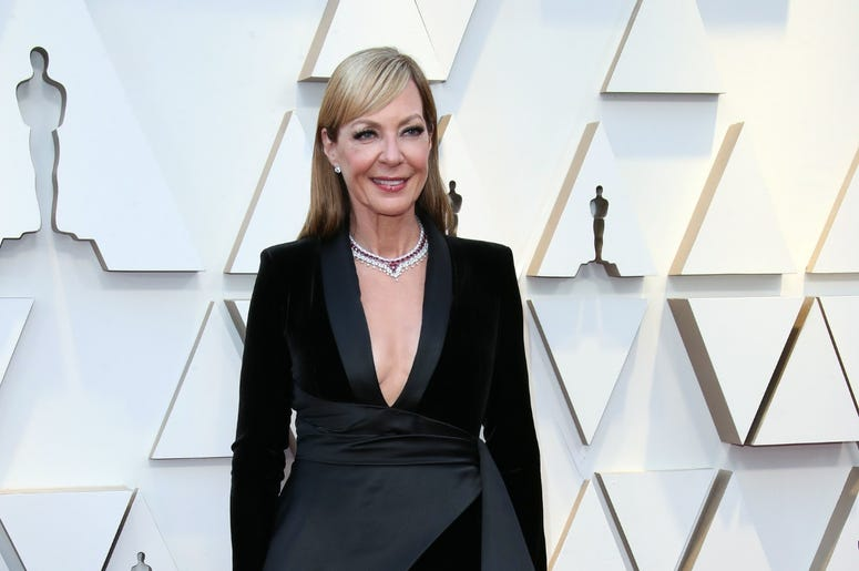 February 24, 2019; Los Angeles, CA, USA; Allison Janney arrives at the 91st Academy Awards at the Dolby Theatre. Mandatory Credit: Dan MacMedan-USA TODAY NETWORK