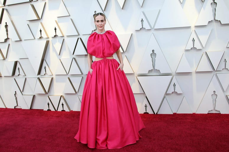 February 24, 2019; Los Angeles, CA, USA; Sarah Paulson arrives at the 91st Academy Awards at the Dolby Theatre. Mandatory Credit: Dan MacMedan-USA TODAY NETWORK
