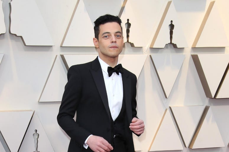 February 24, 2019; Los Angeles, CA, USA; Rami Malek arrives at the 91st Academy Awards at the Dolby Theatre. Mandatory Credit: Dan MacMedan-USA TODAY NETWORK