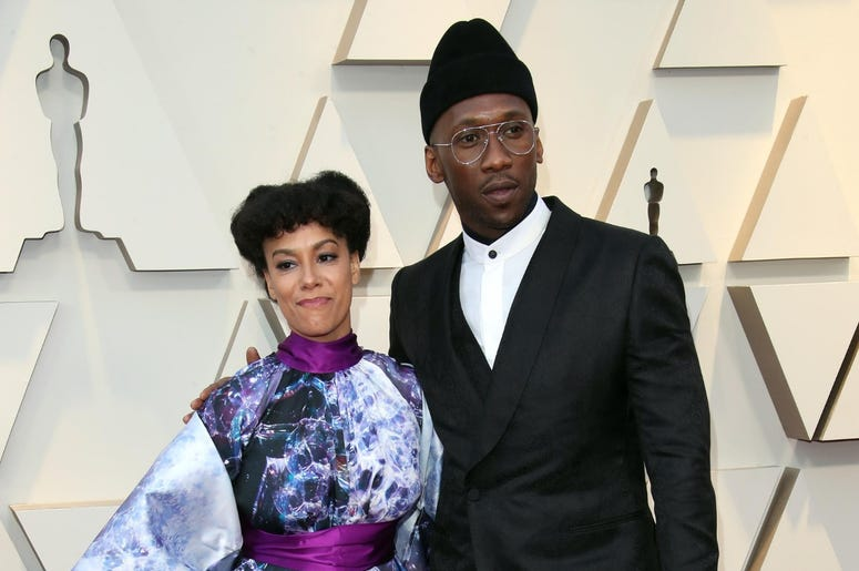 February 24, 2019; Los Angeles, CA, USA; Amatus Sami-Karim, left and Mahershala Ali arrive at the 91st Academy Awards at the Dolby Theatre. Mandatory Credit: Dan MacMedan-USA TODAY NETWORK