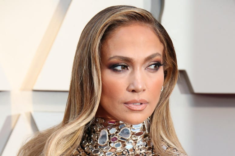 February 24, 2019; Los Angeles, CA, USA; Jennifer Lopez arrives at the 91st Academy Awards at the Dolby Theatre. Mandatory Credit: Dan MacMedan-USA TODAY NETWORK