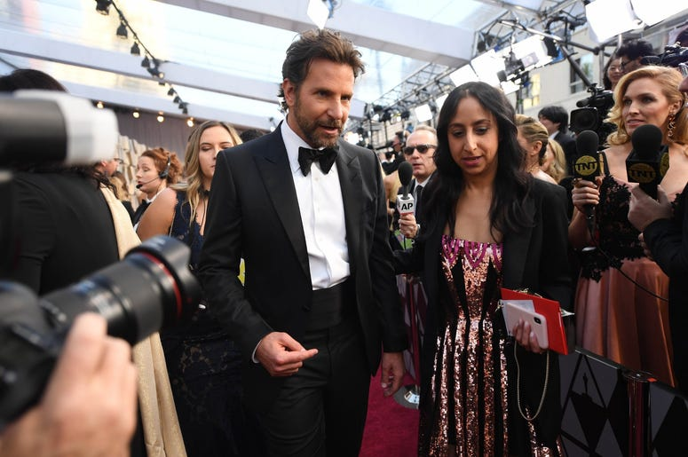 February 24, 2019; Los Angeles, CA, USA; Bradley Cooper arrives at the 91st Academy Awards at the Dolby Theatre. Mandatory Credit: Robert Hanashiro-USA TODAY NETWORK