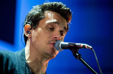 John Mayer singing