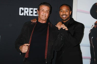 """Creed II"" - Sylvester Stallone and Michael B. Jordan"