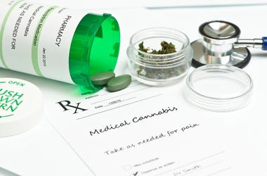 Medical Marijuana. Relief, bottle.