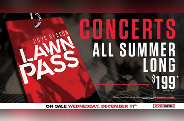 Sold for a limited time only, fans can get their hands on the Lawn Pass beginning with a 24-hour presale exclusively for T-Mobile customers on Tuesday, December 10th
