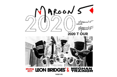 MAROON 5 ANNOUNCE 2020 NORTH AMERICAN TOUR JUNE 18 | BLOSSOM MUSIC CENTER