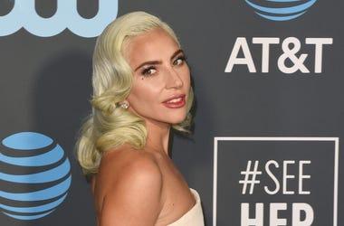 SANTA MONICA, CA - JANUARY 13: Lady Gaga attends the 24th annual Critics' Choice Awards at Barker Hangar on January 13, 2019 in Santa Monica, California. Photo: imageSPACE/Sipa USA