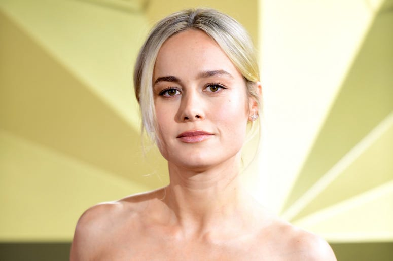 2/27/2019 - Brie Larson attending the Captain Marvel European Premiere held at the Curzon Mayfair, London. Picture date: Wednesday February 27, 2019. Photo credit should read: Ian West/PA Wire (Photo by PA Images/Sipa USA) *** US Rights Only ***