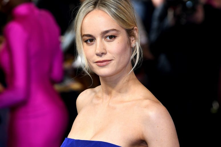 2/27/2019 - Brie Larson attending the European premiere of Captain Marvel at Curzon Mayfair, London. Picture Credit Should Read: Doug Peters/EMPICS Entertainment (Photo by PA Images/Sipa USA) *** US Rights Only ***