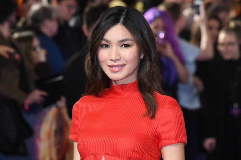 2/27/2019 - Gemma Chan attending the UK Gala Premiere of Captain Marvel at Curzon Mayfair, London. Picture Credit Should Read: Doug Peters/EMPICS (Photo by PA Images/Sipa USA) *** US Rights Only ***