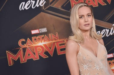 "Brie Larson arrives at the Marvel Studios ""Captain Marvel"" Los Angeles Premiere held at the El Capitan Theatre in Hollywood, CA on Monday, March 4, 2019. (Photo By Sthanlee B. Mirador/Sipa USA)"