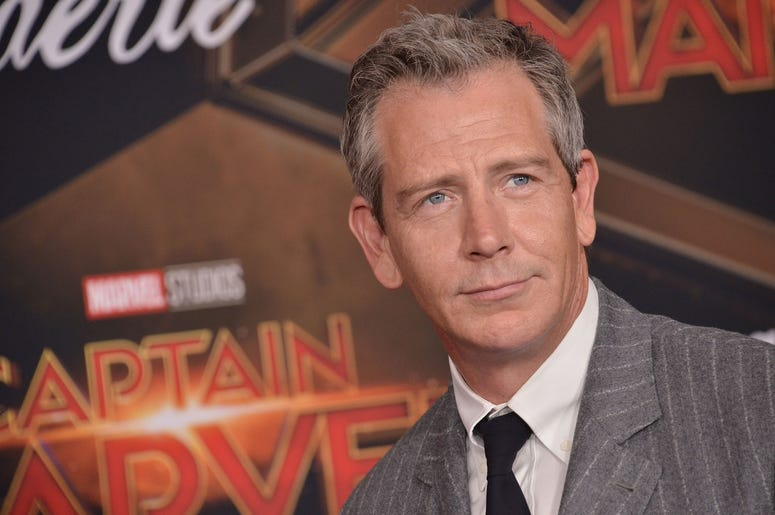 """Ben Mendelsohn arrives at the Marvel Studios """"Captain Marvel"""" Los Angeles Premiere held at the El Capitan Theatre in Hollywood, CA on Monday, March 4, 2019. (Photo By Sthanlee B. Mirador/Sipa USA)"""