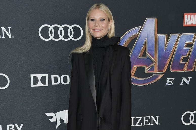 "Gwyneth Paltrow arrives at Marvel Studios' ""Avengers: Endgame"" World Premiere held at the Los Angeles Convention Center in Los Angeles, CA on Monday, April 22, 2019. (Photo By Sthanlee B. Mirador/Sipa USA)"