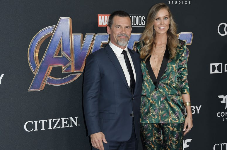 "(L-R) Josh Brolin and Kathryn Boyd at Marvel Studios' ""Avengers: Endgame"" World Premiere held at the Los Angeles Convention Center in Los Angeles, CA on Monday, April 22, 2019. (Photo By Sthanlee B. Mirador/Sipa USA)"