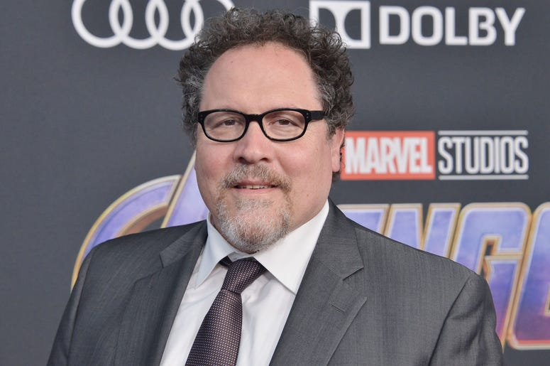 "Jon Favreau arrives at Marvel Studios' ""Avengers: Endgame"" World Premiere held at the Los Angeles Convention Center in Los Angeles, CA on Monday, April 22, 2019. (Photo By Sthanlee B. Mirador/Sipa USA)"