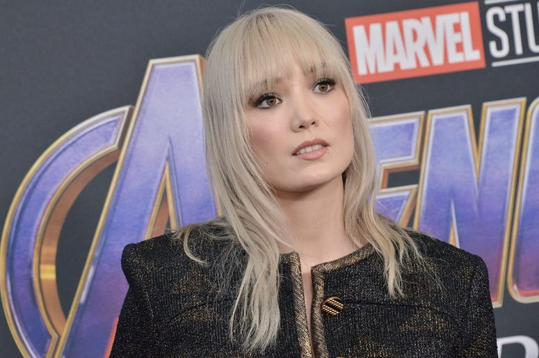 "Pom Klementieff arrives at Marvel Studios' ""Avengers: Endgame"" World Premiere held at the Los Angeles Convention Center in Los Angeles, CA on Monday, April 22, 2019. (Photo By Sthanlee B. Mirador/Sipa USA)"
