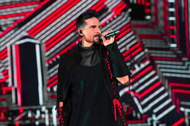 SUNRISE, FL- AUGUST 24: Kevin Richardson performs at the Backstreet Boys DNA World Tour at BB&T Center in Sunrise, Florida on 8/24/2019. (Photo by Ron Elkman/USA TODAY NETWORK/Sipa USA)
