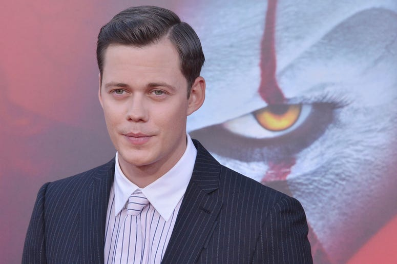 Bill Skarsgård arrives at the Warner Bros. Pictures' IT CHAPTER TWO Premiere held at the Regency Village Theatre in Westwood, CA on Monday, August 26, 2019. (Photo By Sthanlee B. Mirador/Sipa USA)