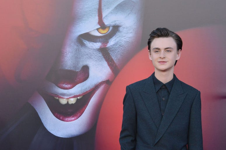 Jaeden Martell arrives at the Warner Bros. Pictures' IT CHAPTER TWO Premiere held at the Regency Village Theatre in Westwood, CA on Monday, August 26, 2019. (Photo By Sthanlee B. Mirador/Sipa USA)