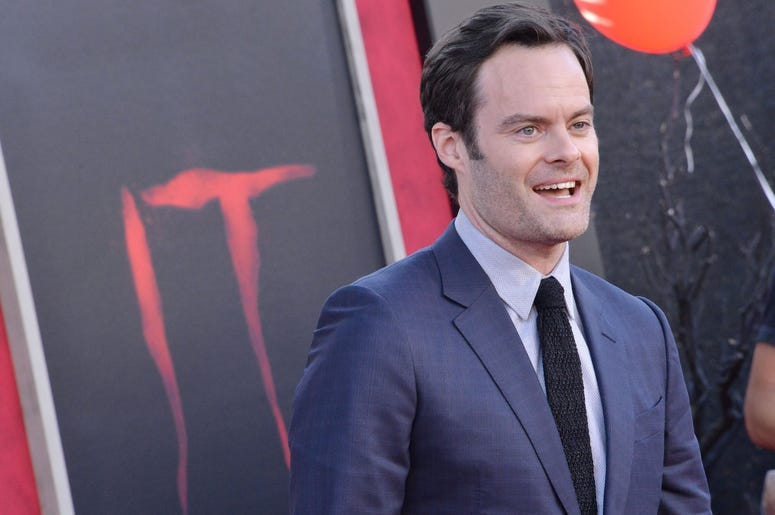 Bill Hader arrives at the Warner Bros. Pictures' IT CHAPTER TWO Premiere held at the Regency Village Theatre in Westwood, CA on Monday, August 26, 2019. (Photo By Sthanlee B. Mirador/Sipa USA)