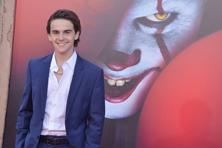 Jack Dylan Grazer arrives at the Warner Bros. Pictures' IT CHAPTER TWO Premiere held at the Regency Village Theatre in Westwood, CA on Monday, August 26, 2019. (Photo By Sthanlee B. Mirador/Sipa USA)