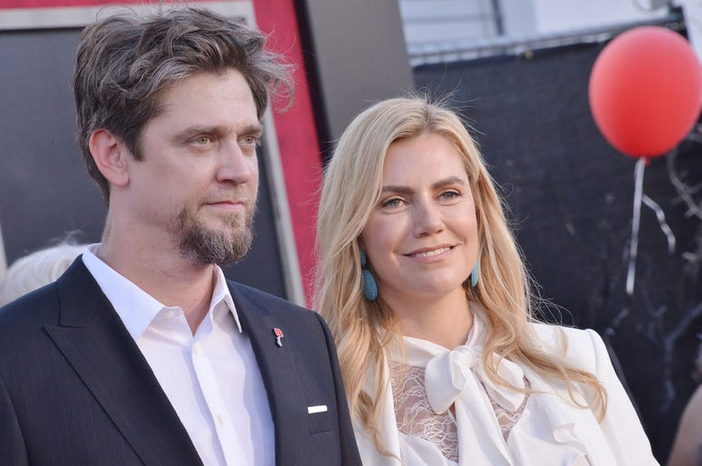 (L-R) Andy Muschietti and Barbara Muschietti at the Warner Bros. Pictures' IT CHAPTER TWO Premiere held at the Regency Village Theatre in Westwood, CA on Monday, August 26, 2019. (Photo By Sthanlee B. Mirador/Sipa USA)