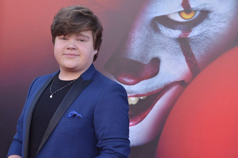 Jeremy Ray Taylor arrives at the Warner Bros. Pictures' IT CHAPTER TWO Premiere held at the Regency Village Theatre in Westwood, CA on Monday, August 26, 2019. (Photo By Sthanlee B. Mirador/Sipa USA)