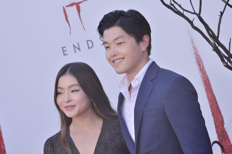 (L-R) Maia Shibutani and Alex Shibutani at the Warner Bros. Pictures' IT CHAPTER TWO Premiere held at the Regency Village Theatre in Westwood, CA on Monday, August 26, 2019. (Photo By Sthanlee B. Mirador/Sipa USA)