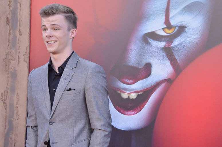 Nicholas Hamilton arrives at the Warner Bros. Pictures' IT CHAPTER TWO Premiere held at the Regency Village Theatre in Westwood, CA on Monday, August 26, 2019. (Photo By Sthanlee B. Mirador/Sipa USA)