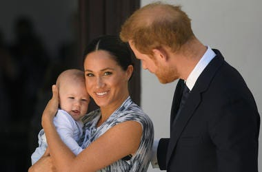 Prince Harry & Meghan Markle with son Archie