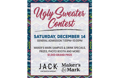 Jack Casino-Ugly Sweater contest CLEVELAND DECEMBER 14th