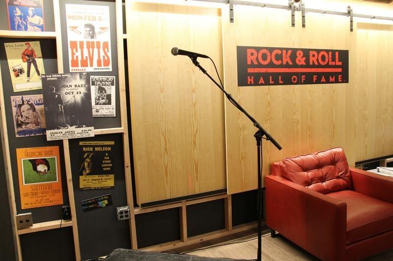 The Rock Hall's Garage Exhibit