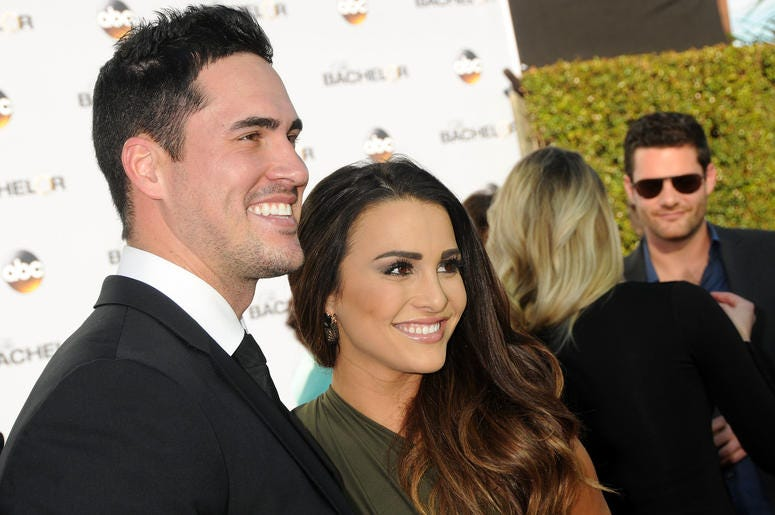 "5 January 2015 - Hollywood, California - Josh Murray, Andi Dorfman. ABC's ""The Bachelor"" Season 19 Premiere held at Line 204 East Stages. Photo Credit: Byron Purvis/AdMedia/Sipa USA"