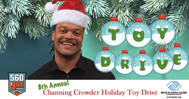 8th Annual Channing Crowder Toy Drive