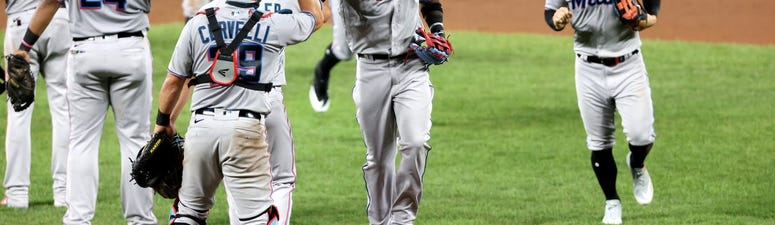 Reduced to Spare Parts, Marlins Return from COVID Quarantine with Win Over Baltimore