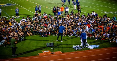 T-48 Camp Attracts South Florida Football Talent