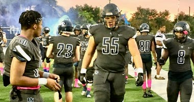 One of the nation's elite offensive linemen is University School's Marcus Tate