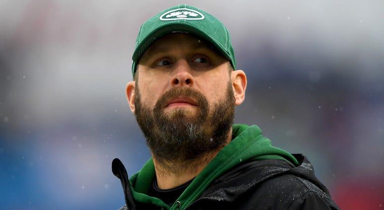 NY Jets head coach Adam Gase