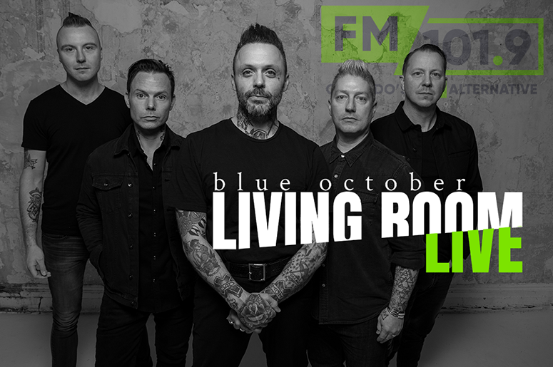 Blue October Live From FM Living Room