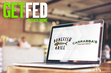 get fed with carrabbas bonefish