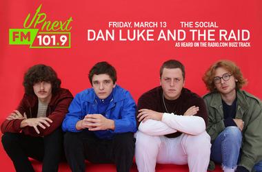 Dan Luke And The Raid Up Next at The Social