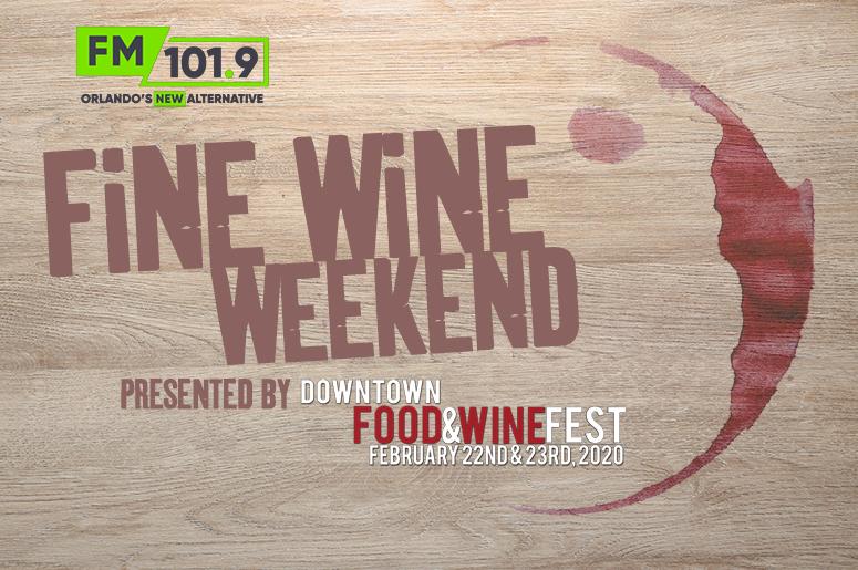 fine wine weekend banner