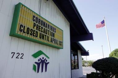 Miami Beach Coronavirus Sign