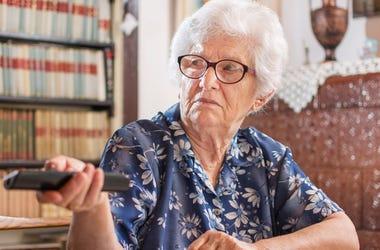 Man Grandma TV